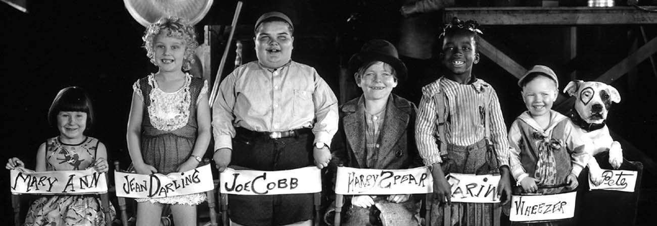 CLH1.0e.1204.Screen3.J0.0 -- The Little Rascals publicity photo 1929. Courtesy of The Silent Movie Theatre.