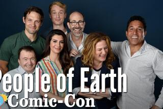 """The """"People Of Earth"""" Cast Is Hoping To Be Abducted By Aliens"""