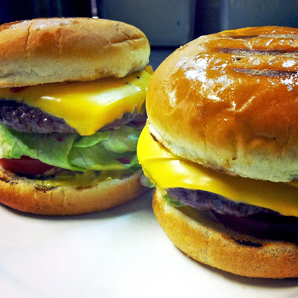 Burgers at Spice Table have been called an In-N-Out burger impression with better meat.