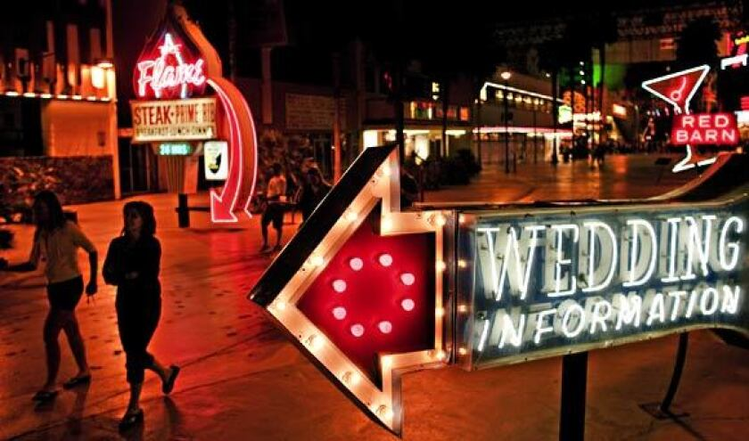 The Fremont Street Experience glows with nostalgia.