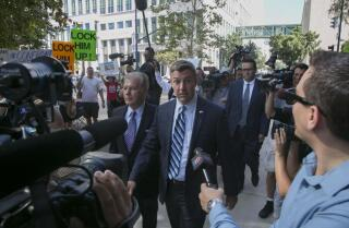 Duncan Hunter arraigned