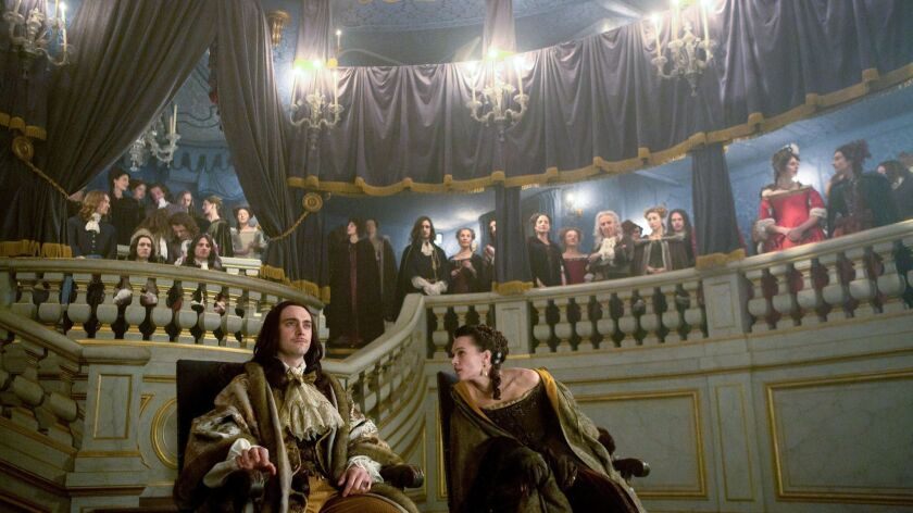 Tournage Versailles 2