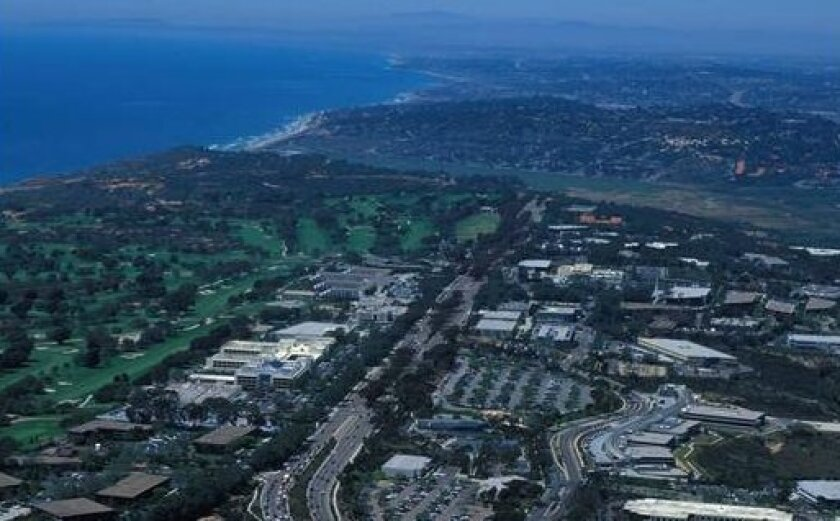 Aerial view of The Scripps Research Institute