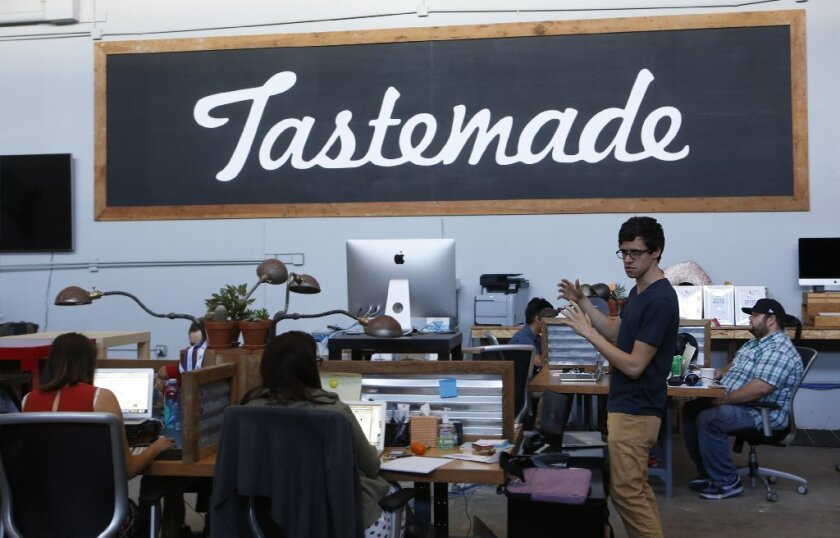 Tastemade is particularly adept at reaching millennials. About 60% of its 100 million active monthly users are 18 to 34.