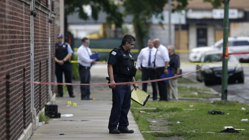 Police in Chicago say 561 homicides were committed between Jan. 1 and Dec. 31, 2018. That compares to 660 homicides in 2017 and more than 770 in 2016.