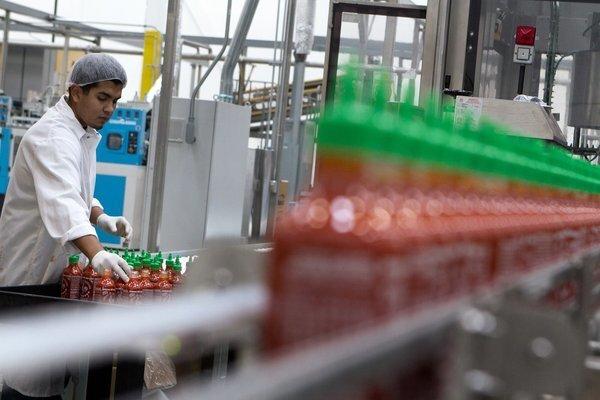 Sriracha factory
