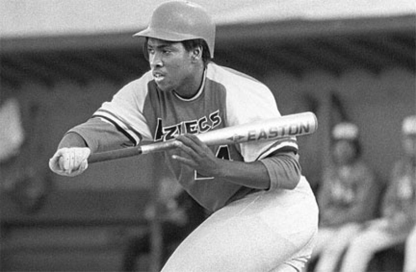 Tony Gwynn joined the 1981 SDSU baseball team 16 games into the 1981 season.