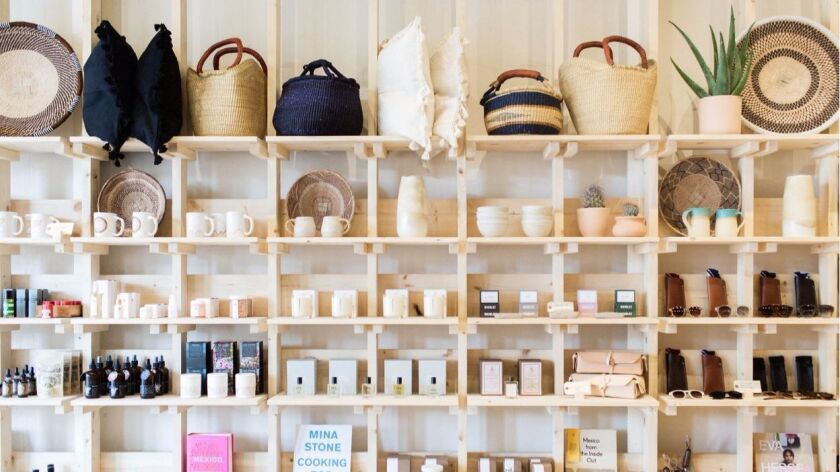 """The new Midland boutique reflects influences from the Southwestern U.S., Mexico and even Japan, """"but with the ease of Southern California throughout,"""" says co-owner Paige Appel."""