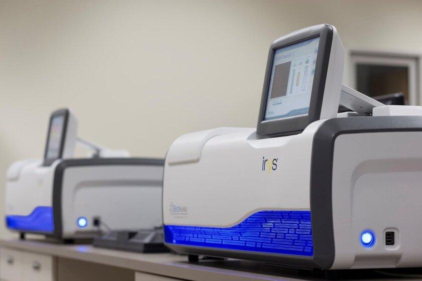 The Irys DNA reading device, made by BioNano Genomics.