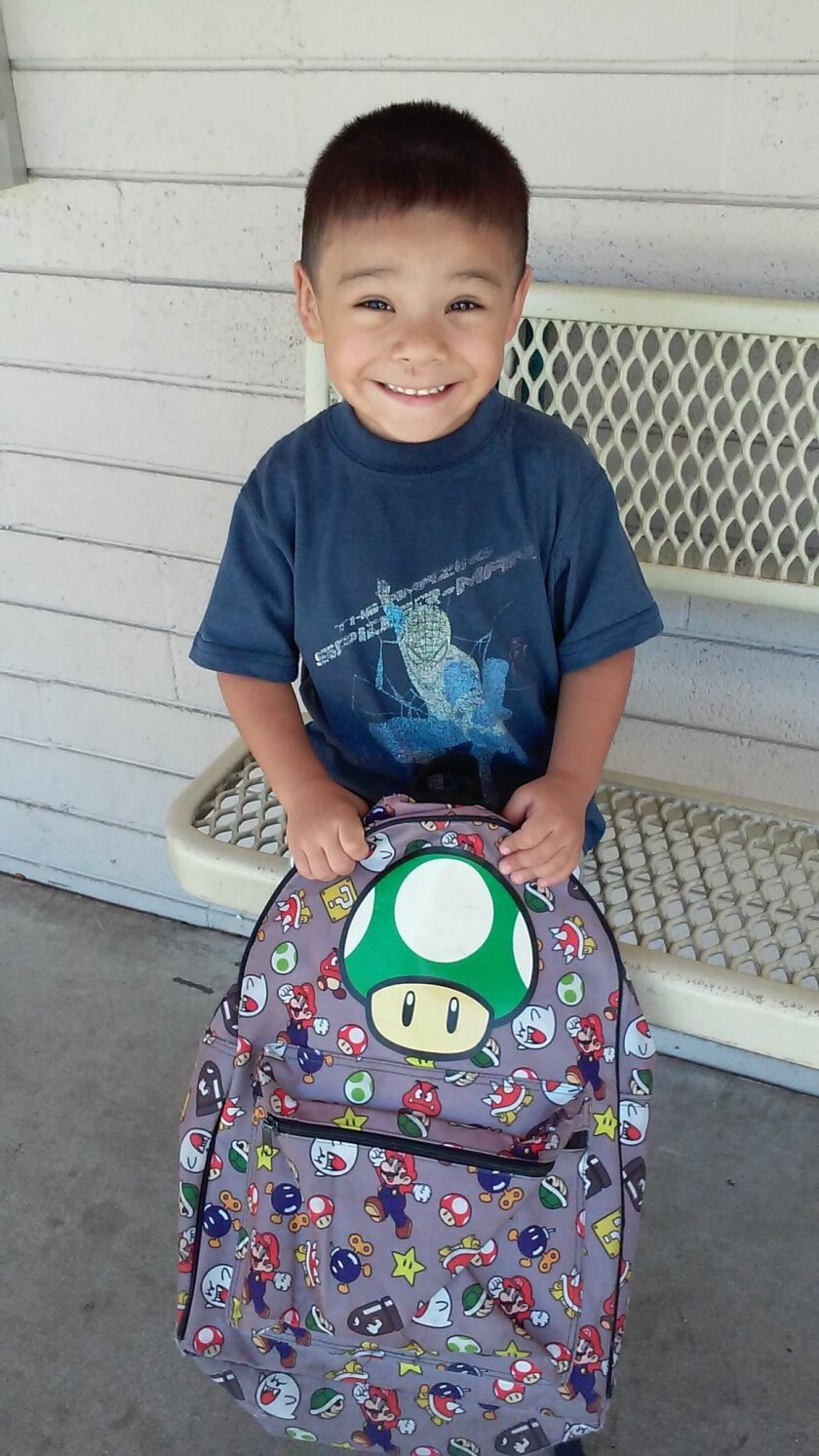 Daniel Munoz, 4, was shot and killed outside his grandmother's home in Highland, Calif.