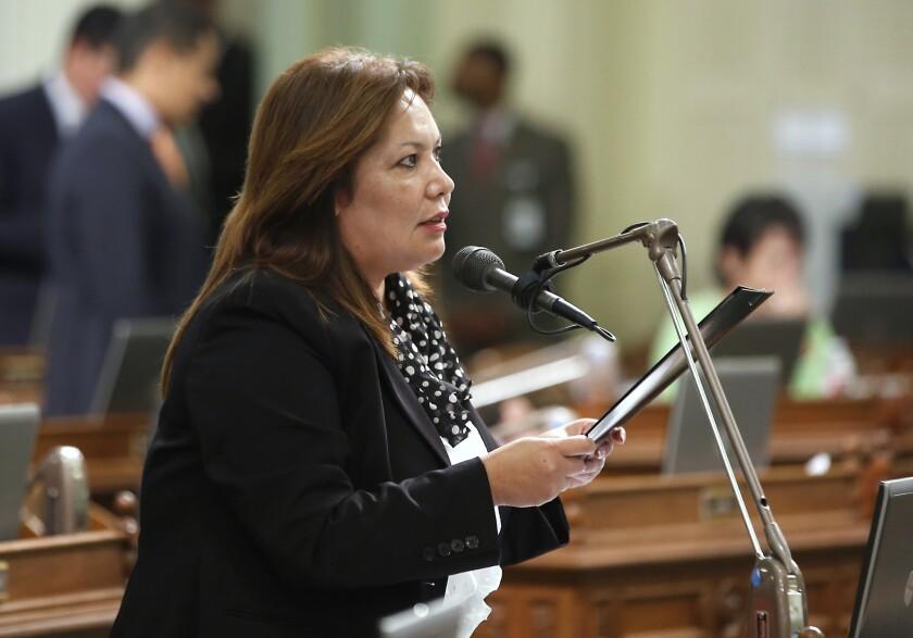 Assemblywoman Patty Lopez (D-San Fernando) trailed her challenger, Democrat Raul Bocanegra. Bocanegra previously held Lopez's seat.
