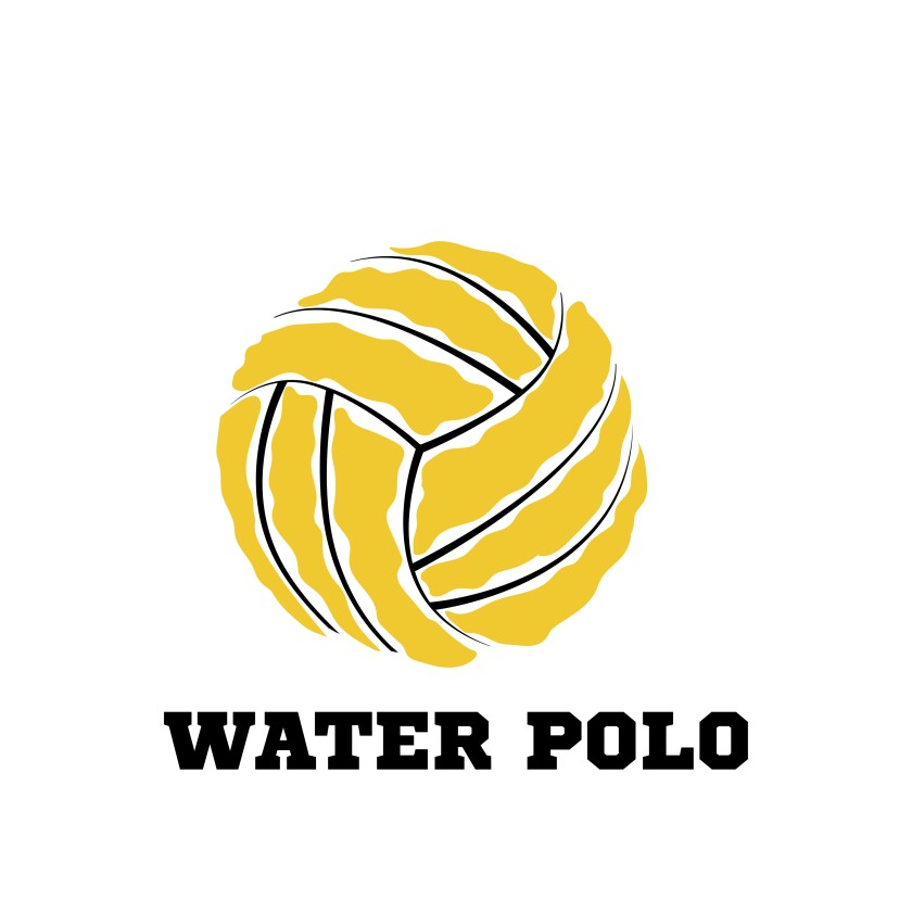 Water polo ball logo