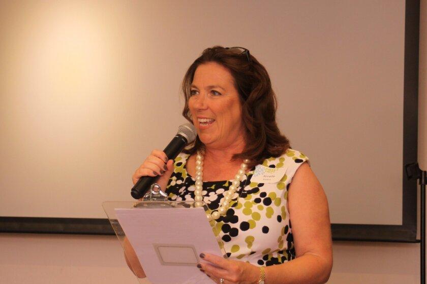 Annette Bradbury, Las Patronas 2015 president