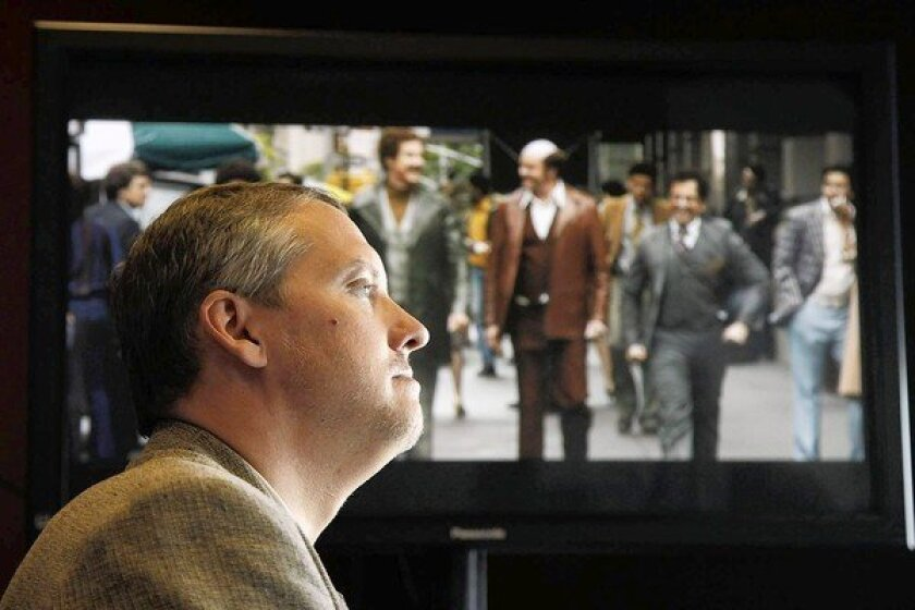 Adam McKay on the Paramount Studios lot in the Hollywood area of Los Angeles.