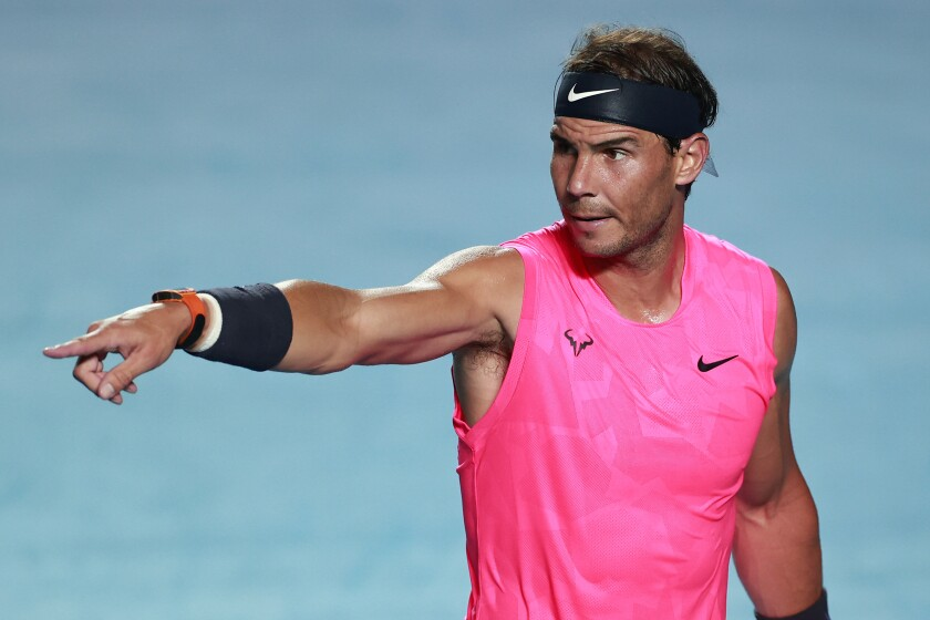 Rafael Nadal is ready to cancel this tennis season and move on to ...
