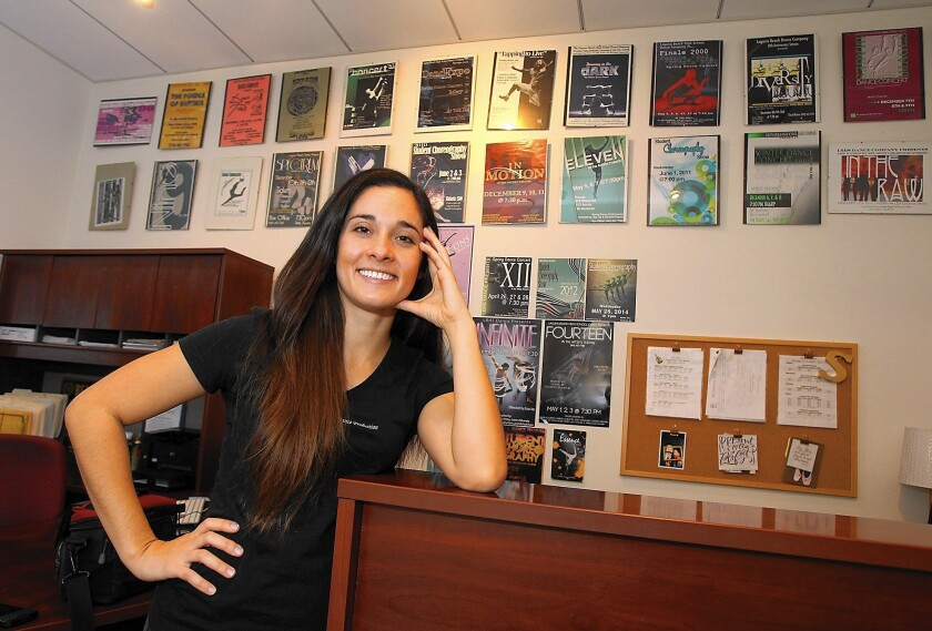 Estee Carrizosa is the new artistic director of dance at Laguna Beach High School.