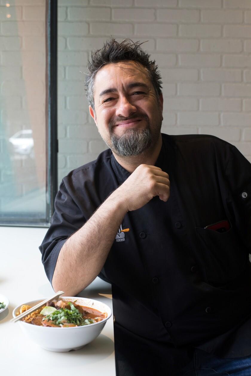 Chef Antonio de Livier