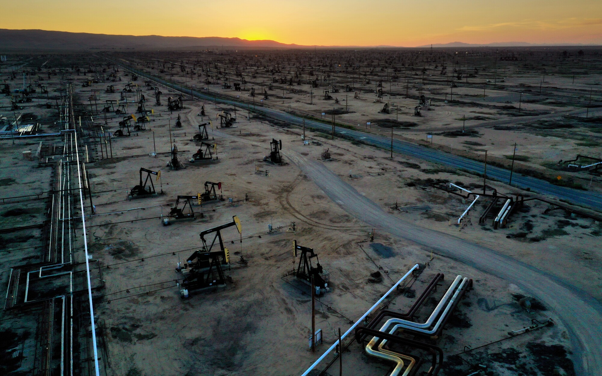 McKittrick oil field