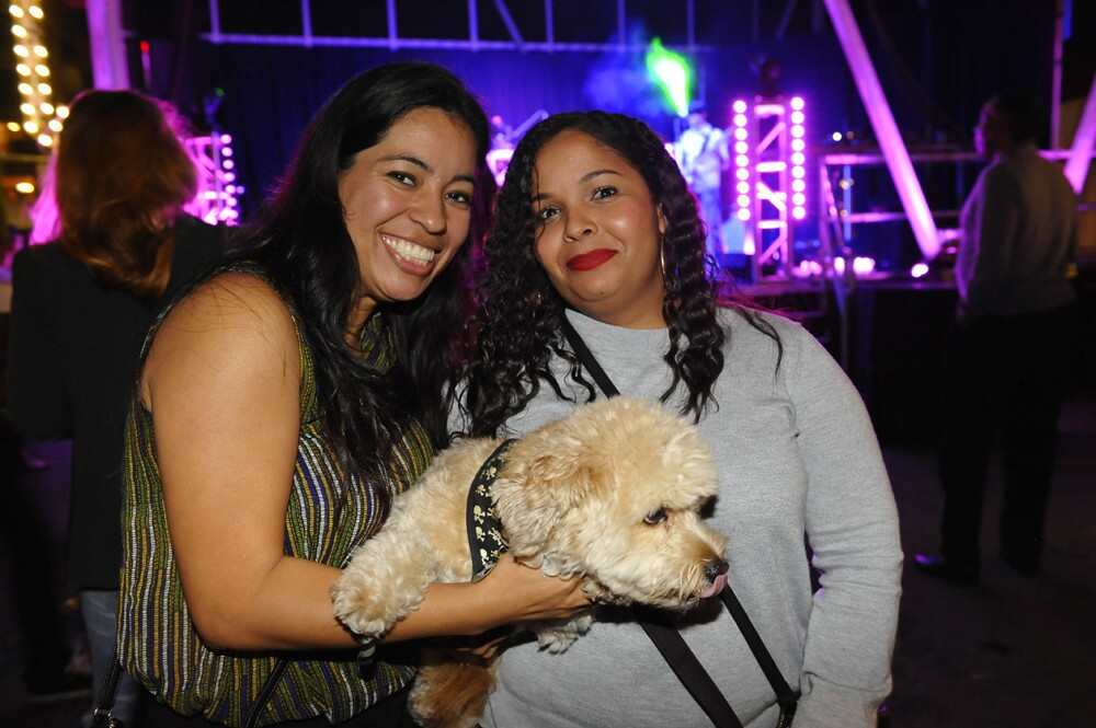 East Village's favorite urban park and community space celebrated it's second birthday with music, photo booths, food trucks and live art at Quartyard on Friday, March 3, 2017.