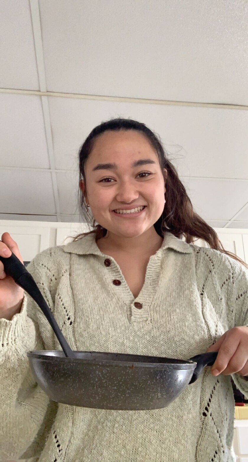 La Jolla High School senior and Girl Scout Lauren Nitahara launched a series of videos to teach children how to cook.