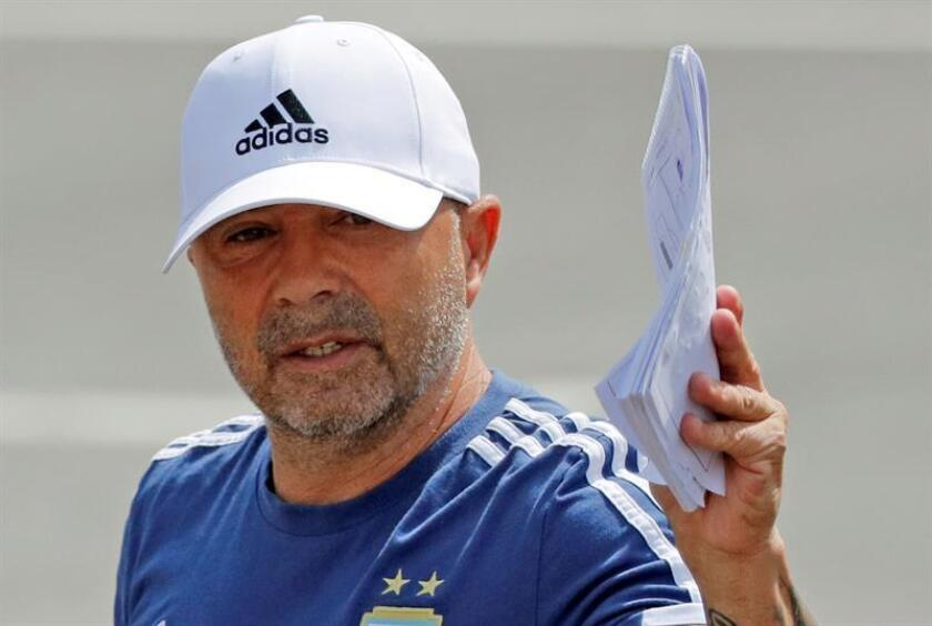 El entrenador argentino, Jorge Sampaoli. EFE/Archivo