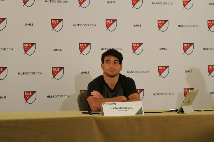 Nicolás Lodeiro cree que su compatriota Luis Suárez podría considerar a la MLS.
