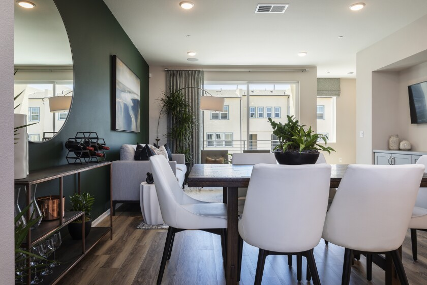 Online model home tours have launched at the masterplanned communities of Weston in Santee, Pacific Highlands Ranch in north San Diego and Playa del Sol in south San Diego's Ocean View Hills. Buyers can also view site plans and configure floor plans with personal options from their home computer.