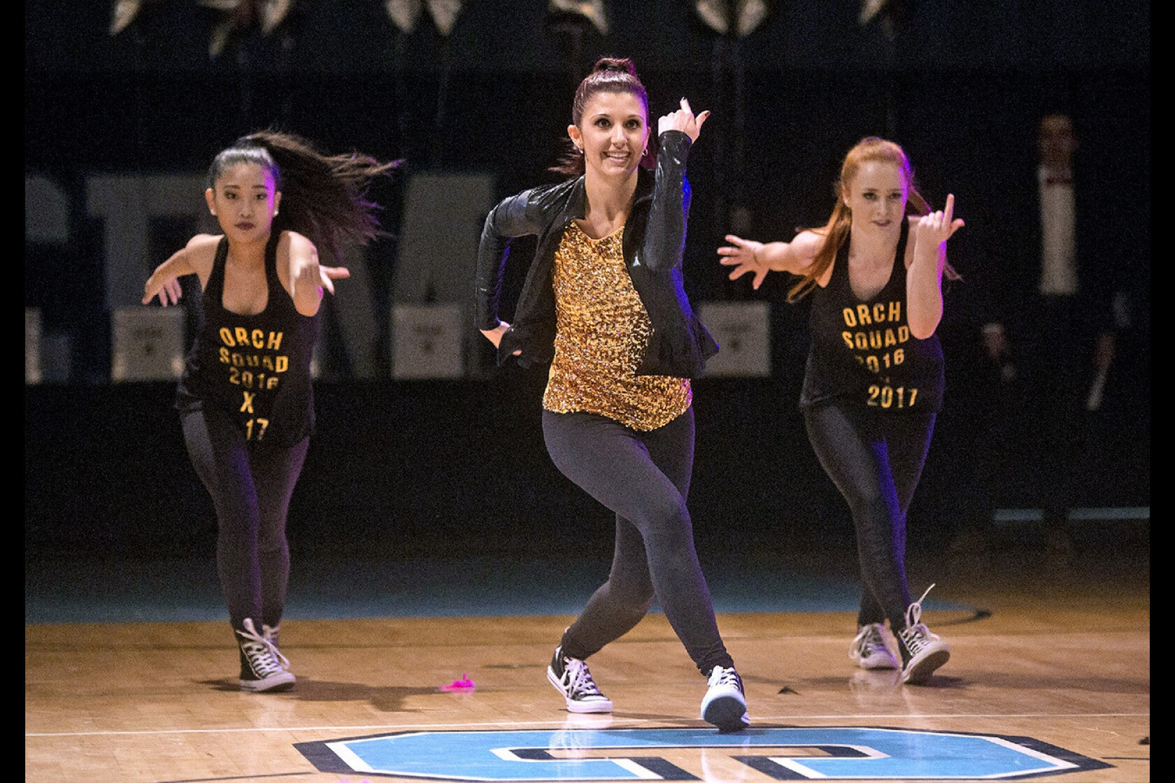 Teachers dance with students for fun and trophies at Corona
