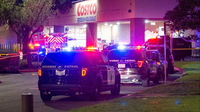 Shooting that occurred tonight inside a Costco in Corona, C.A. Multiple victims were transported by