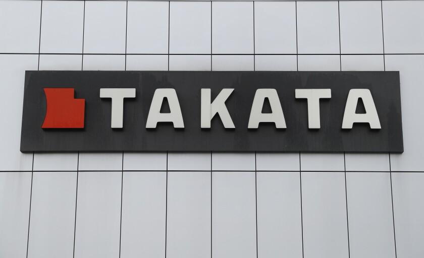 Takata sign