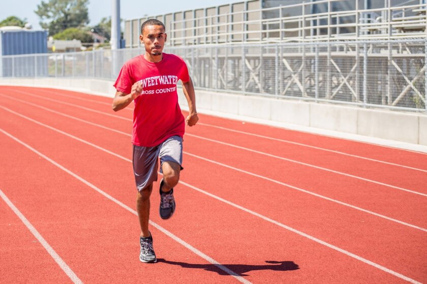 Sweetwater cross country runner Carlos Aviles-Sullivan is setting his sights on the state championships.