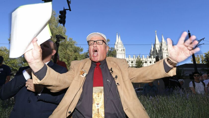 Mormon says he was excommunicated for accusing church