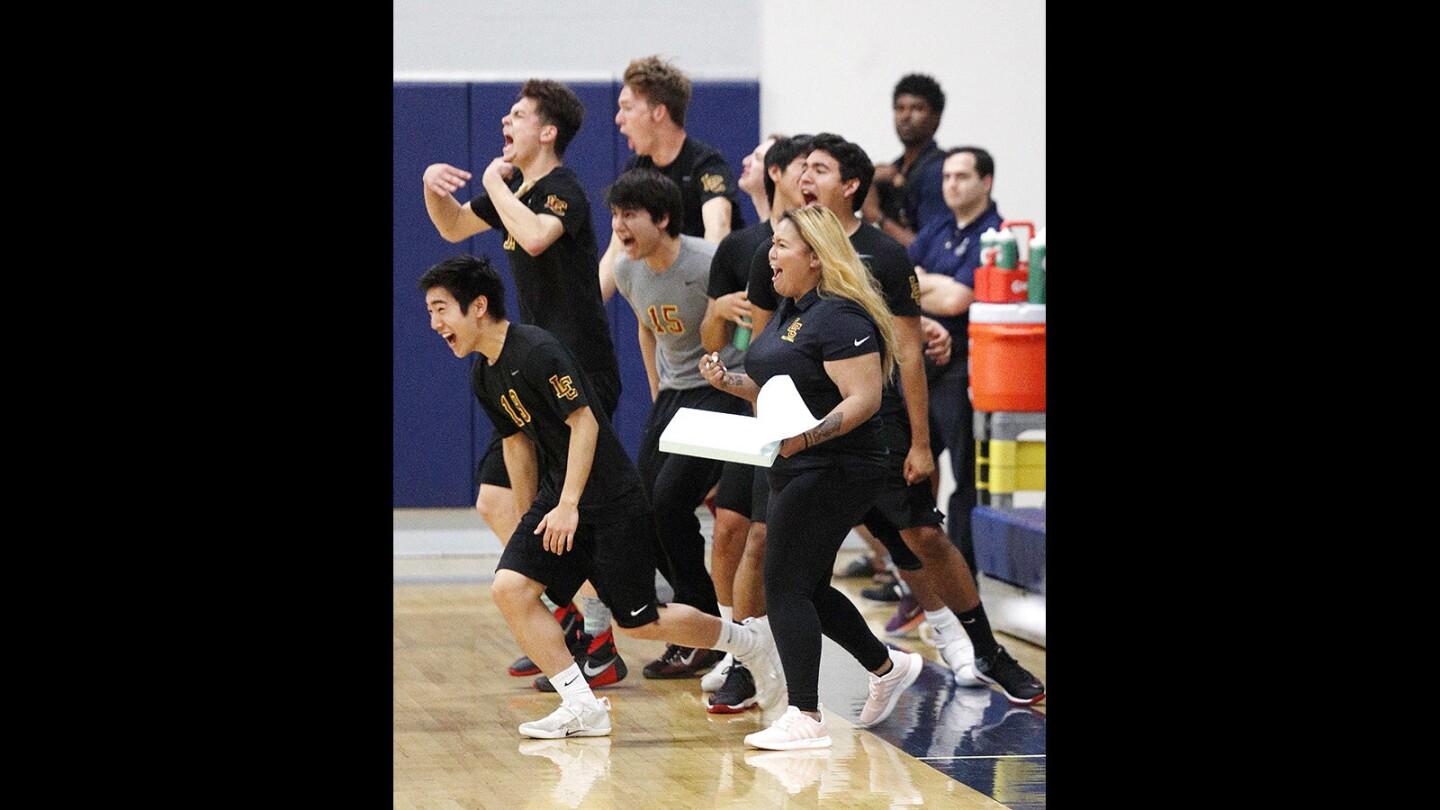 Photo Gallery: La Canada vs. Flintridge Prep in first round CIF Division III boys' volleyball playoff