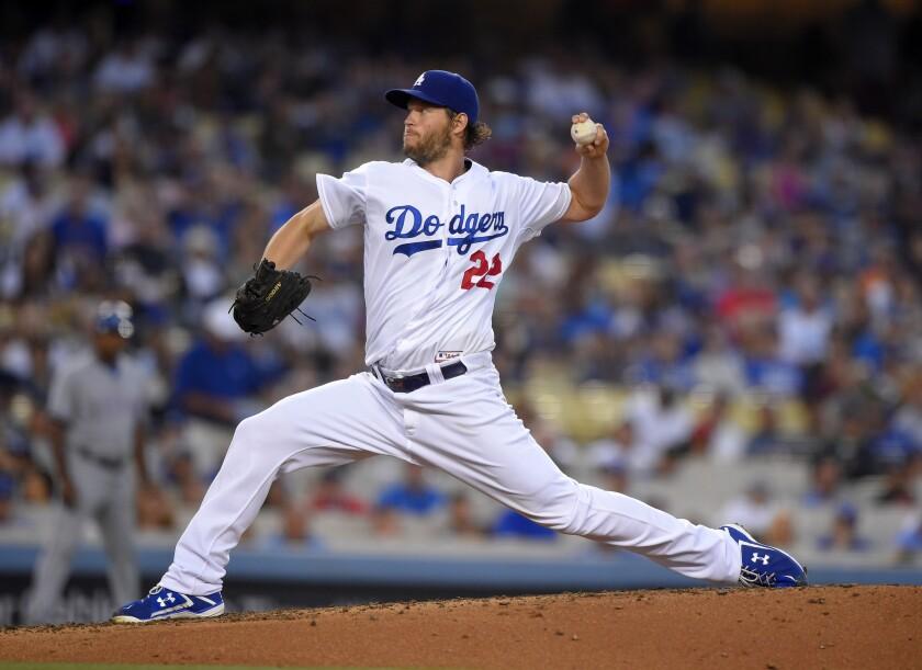 El lanzador de los Dodgers, Clayton Kershaw, busca mejorar en la segunda parte de la temporada.