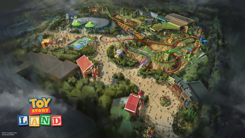 Toy Story Land is coming to Disney's Hollwood Studios in Orlando, Fla.