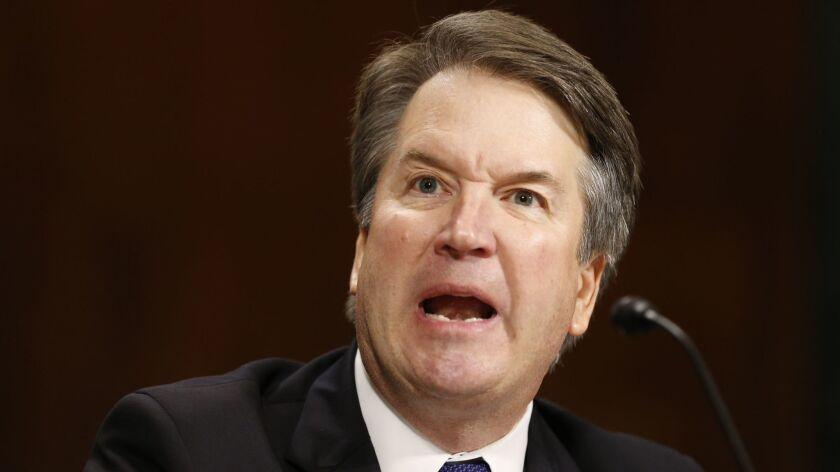 Supreme Court nominee Brett Kavanaugh.