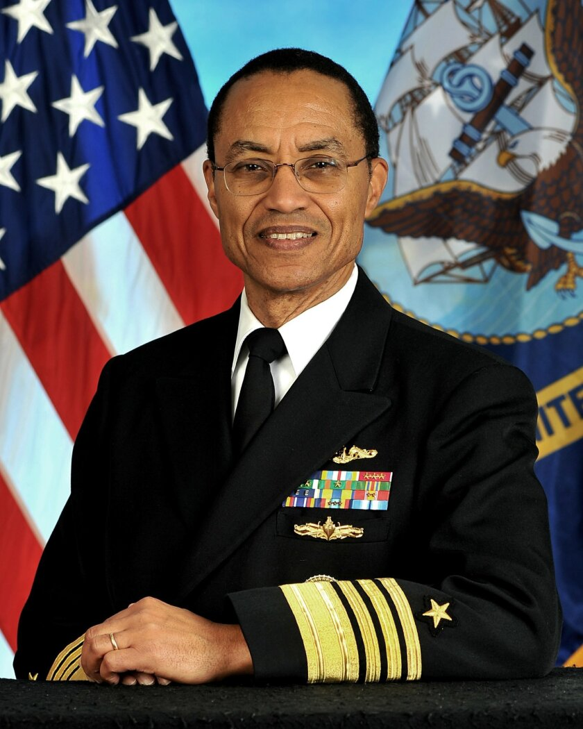 Official photo of Admiral Cecil D. Haney