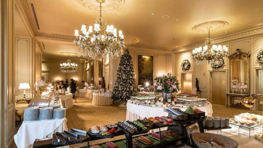 Christmas Lunch Buffet San Diego 2020 Where to dine on Hanukkah and Christmas in San Diego County   The
