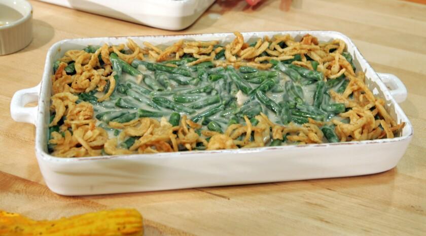 Green bean casserole.