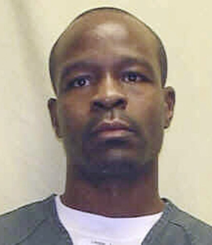 This undated photo provided by the Ohio Department of Rehabilitation and Corrections shows Keith LaMar. The 6th U.S. Circuit court of Appeals will hear arguments Tuesday, Dec. 2, 2014, in LaMar's appeal. LaMar, an inmate convicted and sentenced to be executed for the slayings of fellow inmates duri
