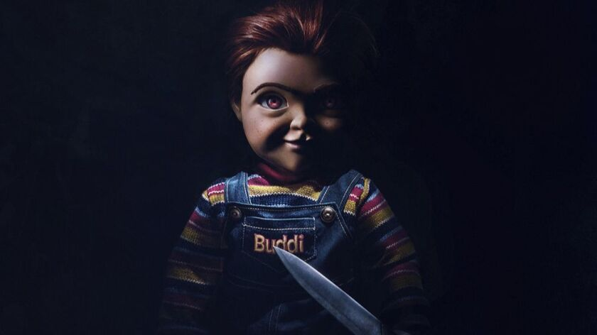 """This image released by Orion Pictures shows the character Chucky from the horror film, """"Child's Play"""