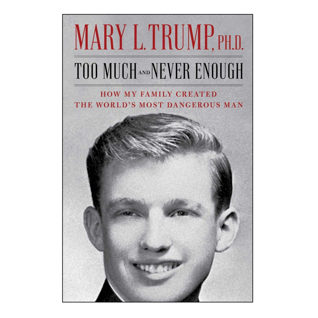 HOLIDAY GIFT GUIDE - Cover des Buches Too Much and Never Enough von Mary L. Trump.