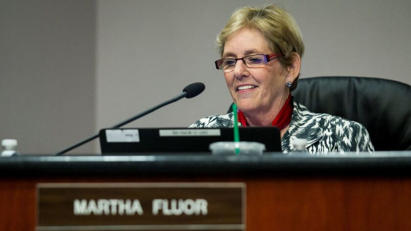 COSTA MESA, DECEMBER 09 - Martha Fluor was appointed the president during the Newport-Mesa Unified S