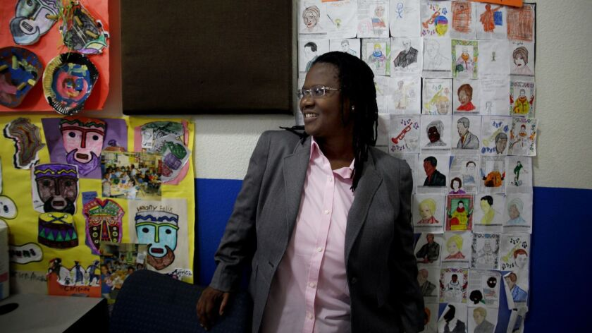 Vielka McFarlane in 2011. The founder of Celerity Educational Group agreed to plead guilty to one count of conspiracy to misappropriate and embezzle public funds, federal prosecutors said.