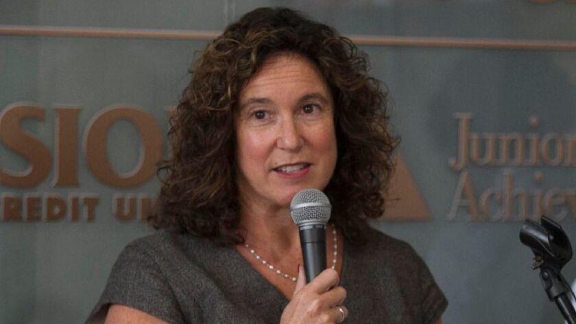 SDUSD Superintendent Cindy Marten.
