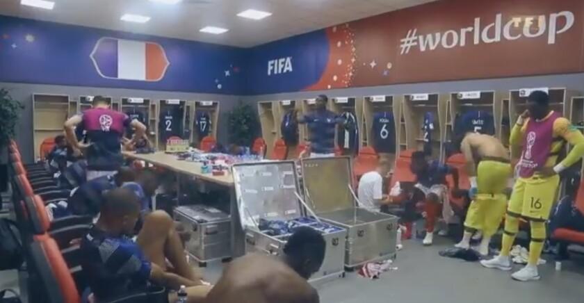 """Pogba de Francia dio intenso discurso antes de enfrentar a Argentina, """"a Messi me lo paso por los…"""""""