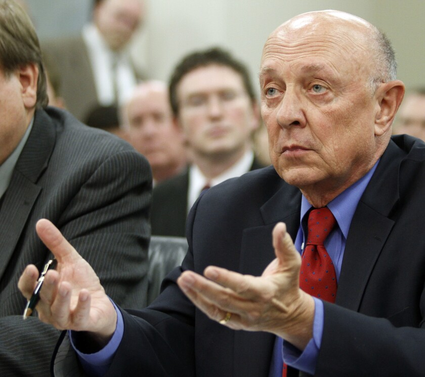 Former CIA Director James Woolsey.