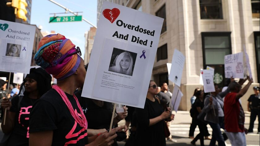 National Overdose Awareness Day March