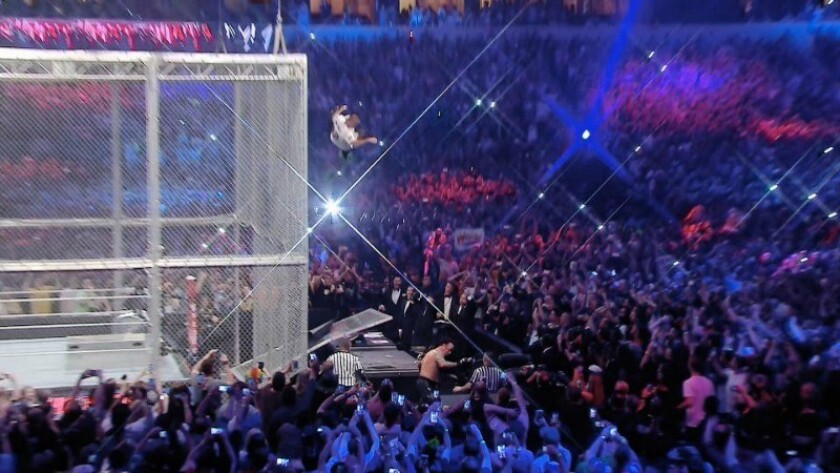 Wrestlemania 32 live results