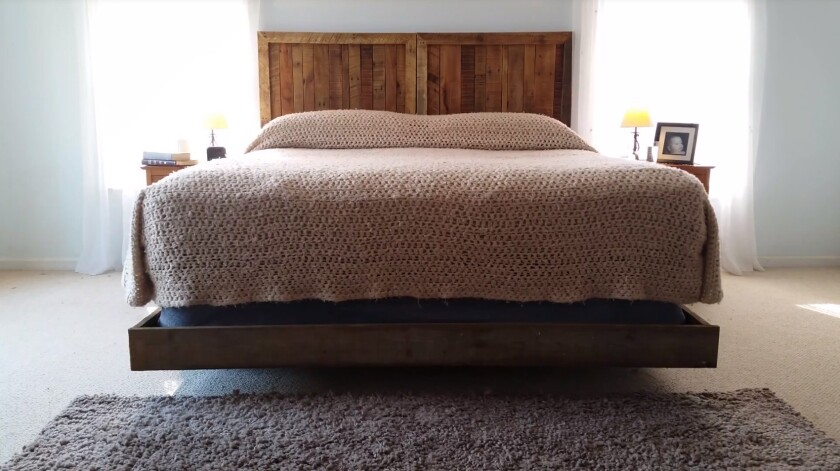 The Patent Pending Rocking Bed